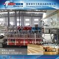 PVC结皮发泡木塑建筑模板生产线设备 4