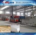 PVC结皮发泡木塑建筑模板生产线设备 5
