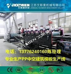 生產塑料pp模板設備廠家