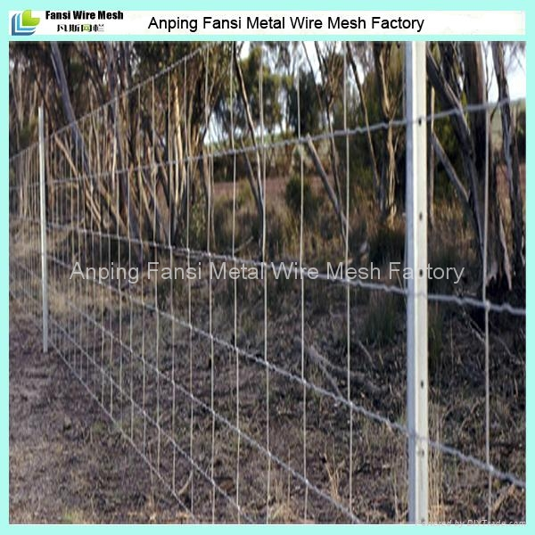 8 90 15 100m Roll Heavy Galvanised Wire Fencing With Star