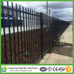 2016 hot sale Australia standard residential Made in china steel fence