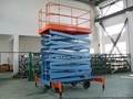 4m Lifting Height Scissor Lift with 1t Loading Capacity