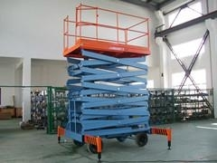 4m Lifting Height Scissor Lift with 1t