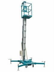 Single Mast Aluminum Aerial Work Platform