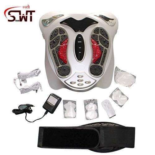Acupunture foot massager wih heating belt 1