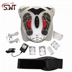 Acupunture foot massager wih heating