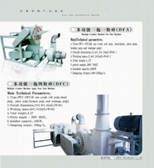 Multifunctional Crusher Machine for One-To-Four Use