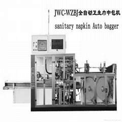 Full servo sanitary napkin bagger machine