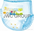 Semi-Servo  Pull Up Baby Diaper Machine 2