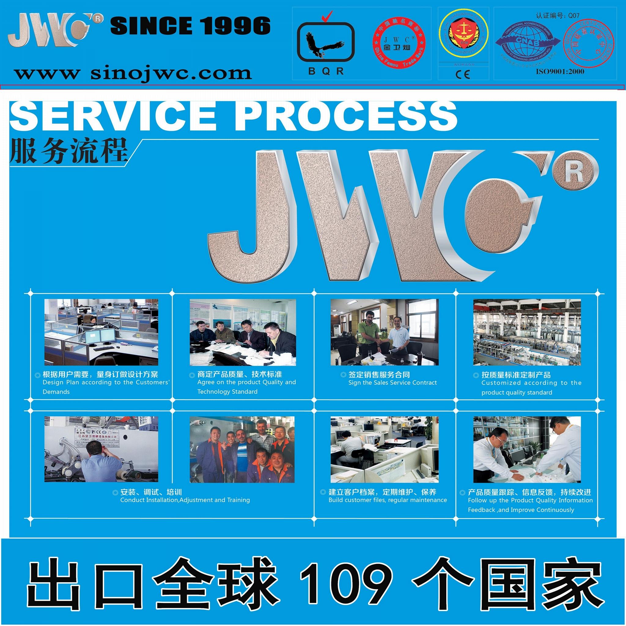 供應全伺服高速衛生巾生產線 1