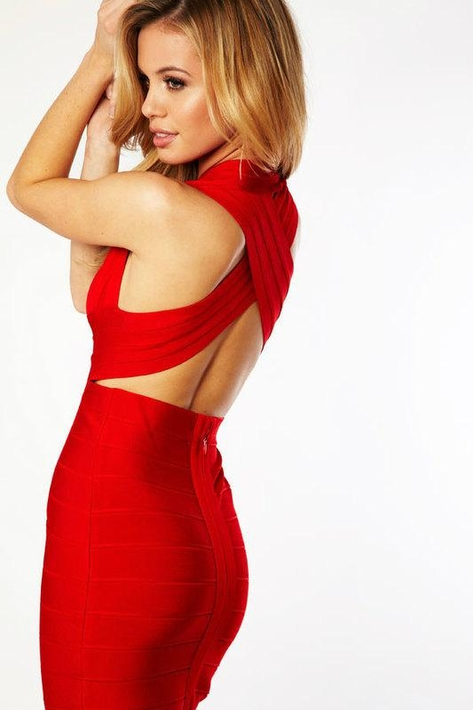 2015 Celebrity Bandage Bodycon Dress Wholesale Hollywood