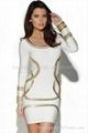 2015 white bandage dress herve leger