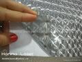 3D self adhesive plastic film/photo