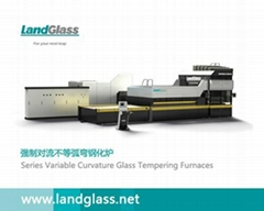 LD-AT Series Double Chamber Glass Tempering Furnace