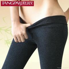 竹碳打底褲
