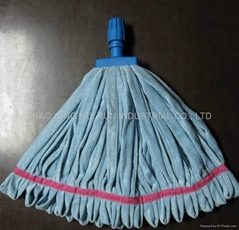 microfiber tube mop with plastic head