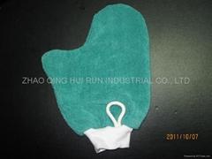 microfiber cleaning mitt