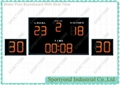 Electronic Water polo Scoreboard With