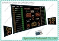 LED Basketball Player Scoreboard With