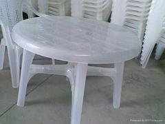 全新料塑料桌椅