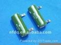 enamel resistor and paint coating