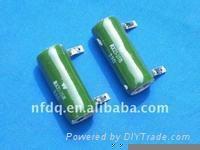 enamel resistor and paint coating resistor