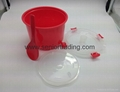 Plastic Rice Steamer Microwave Rice Cooker 4