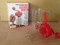Plastic batter dispenser Manual pancake