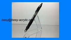 Clear acrylic single pen display stands