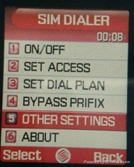 mobile dialer with call back function