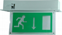 Rechargeable LED Emergency Exit Sign Luminaires