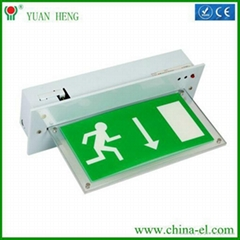 emergency exit signs light