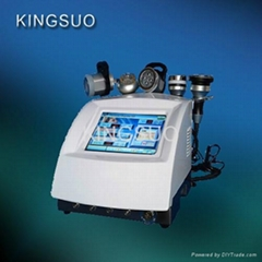 Multifunctional rf skin tightening,bio led lamp ultrasound cavi slimming