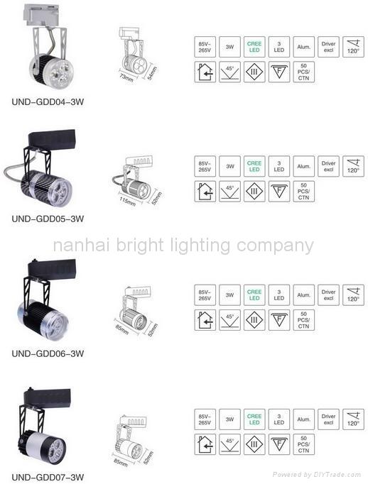 LED light  LED down light  LED ceiling light  commercial light LED track light 2