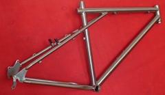 titanium MTB bike frame