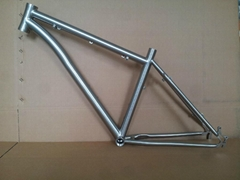 Titanium bicycle frames