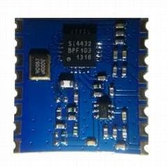無線雙向模塊FSK大功率W-RT-SI4432S