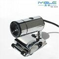 Metal usb webcam camera with microphone for computer laptop Metal PC Camera 1