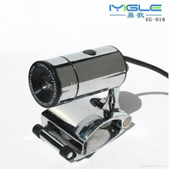 Metal usb webcam camera with microphone for computer laptop Metal PC Camera