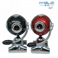 wholesale Free driver usb clip pc webcam with Mic 1