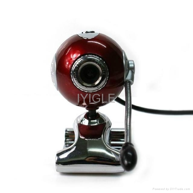 wholesale Free driver usb clip pc webcam with Mic 5