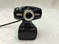 HD USB webcam Web Camera computer camera with microphone clip webcam 2
