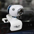 360 Degree Rotation Laptop Webcam With