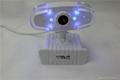 WHITE color USB PC Webcam high definition good quality webcam usb 2.0 webcam  2