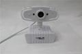 WHITE color USB PC Webcam high definition good quality webcam usb 2.0 webcam  4