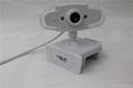 WHITE color USB PC Webcam high definition good quality webcam usb 2.0 webcam  5