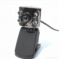 usb portable Webcam with 6LED Lights for computer/Web Cam PC Camera WebCam HD 2