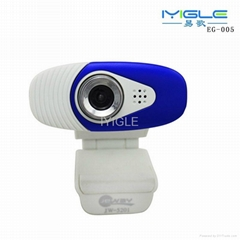 driver free mini pc webcam with microphone/usb 2.0 web camera clip pc webcam