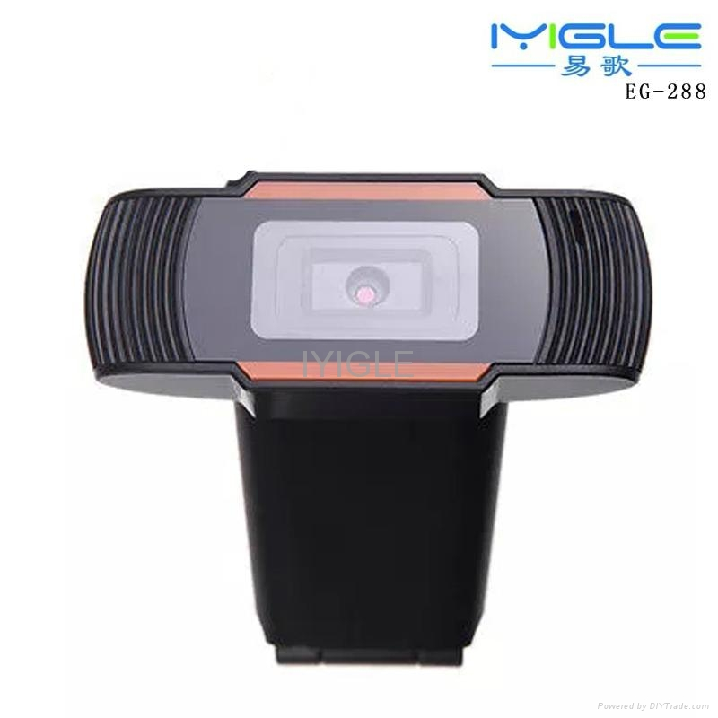 Webcam Free Driver HD PC Camera With Microphone/Fashion Computer Webcam pc Camer 1