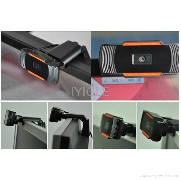 Webcam Free Driver HD PC Camera With Microphone/Fashion Computer Webcam pc Camer 5